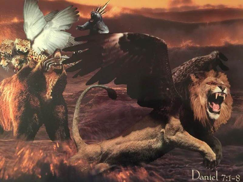Revelation 13 beast is the combined Daniel 7 beasts