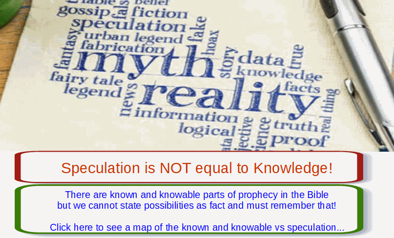 known vs speculation