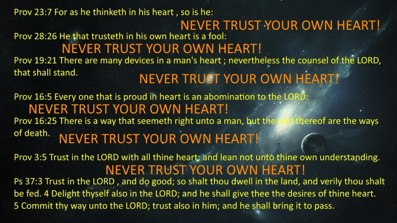 Never Trust Your Heart